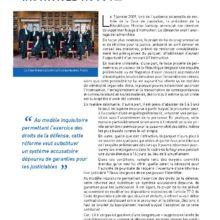 Instruisez-nous ! : la tribune dans la Gazette du Palais